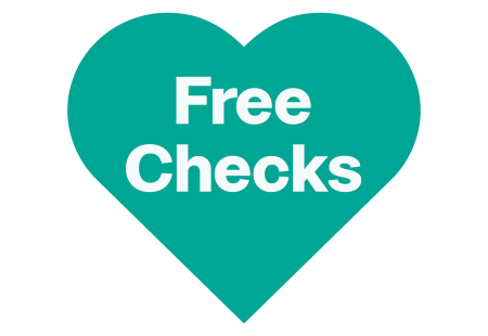 Free Checks Heart